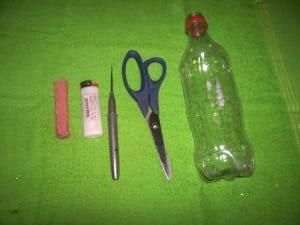 reciclagem garrafa pet 1