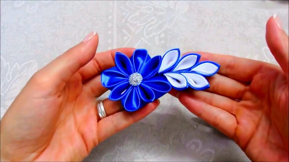 Passo a Passo para Criar um Lindo Arranjo de Flores com Cristais Que Pode Ser Usado como Presilha