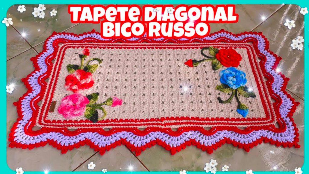Tapete Diagonal Bico Russo Tapete Econômico – Passo A Passo [Vídeo Aula]