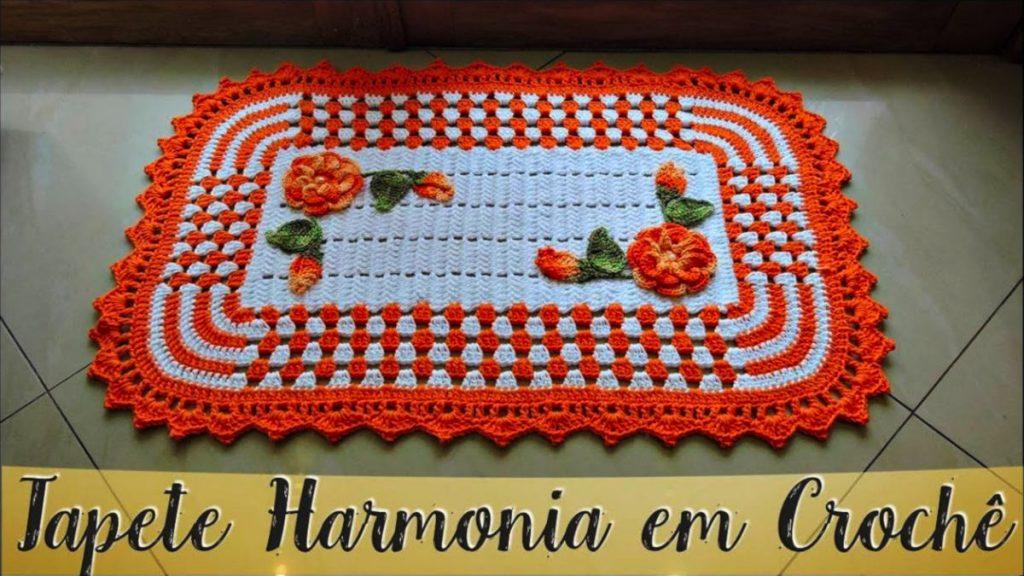 Tapete Harmonia Diane Gonçalves – Passo A Passo [Vídeo Aula]