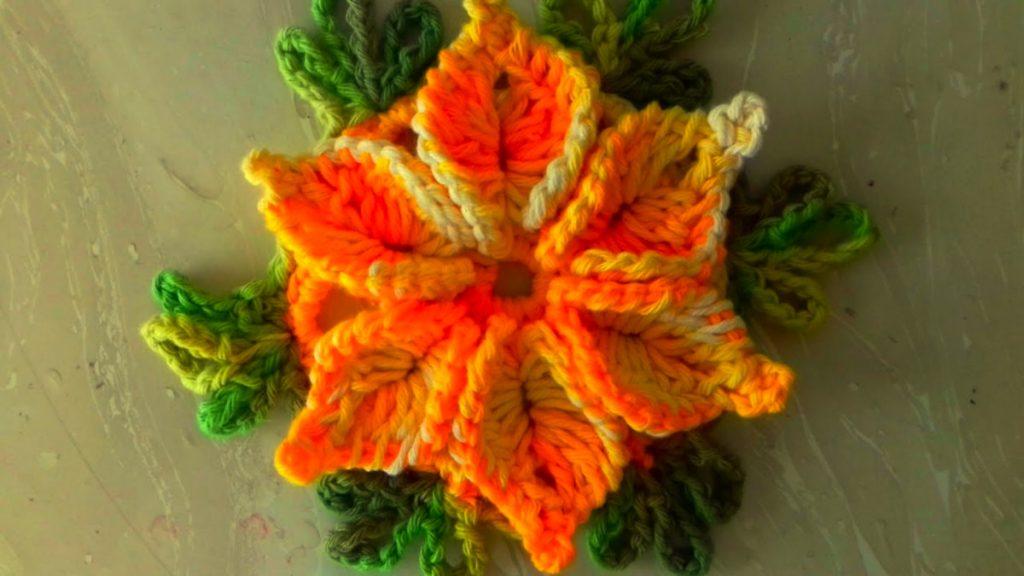 Flor De Crochê Para Aplicação Passo A Passo Com Cristina Coelho Alves – Passo A Passo [Vídeo Aula]