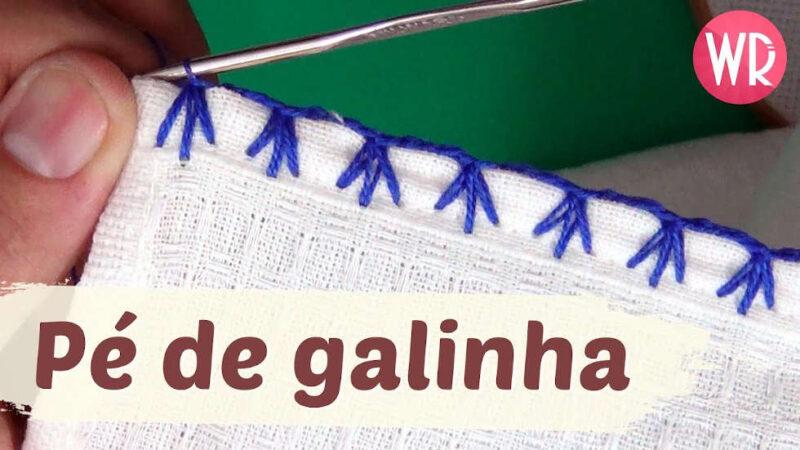 BICO DE CROCHÊ PÉ DE GALINHA - RAPIDO E FÁCIL DE FAZER WAGNER REIS [VÍDEO AULA]