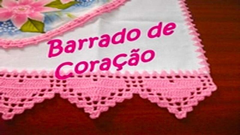 BARRADO DE CORAÇÃO | PASSO A PASSO RÁPIDO PARA INICIANTES